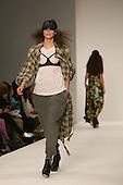 14-19 September 2008, London Fashion Week, Spring/Summer 2009 collection by Indian designer Ashish Gupta. Photo: Bettina Strenske