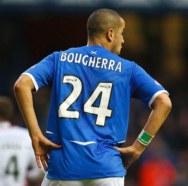 Madjid Bougherra with his Algeria sweatband on his arm
