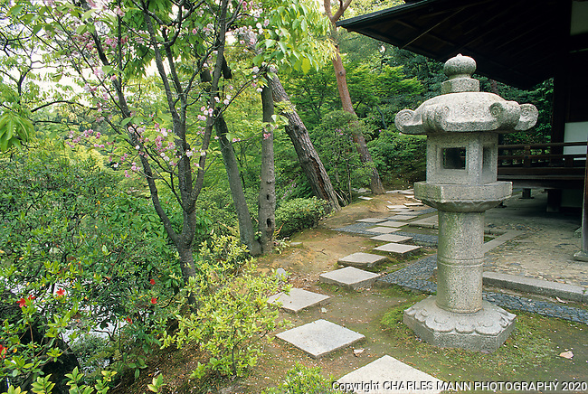 The seemingly casual and quirky arrangement of stones in a Japanese garden path is acutally a purposeful design.