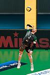 05.02.2020, ZF Arena, Friedrichshafen, GER, DVL, VfB Friedrichshafen vs Netzhoppers KW - Bestensee,<br /> im Bild Casey Adam Schouten (Netzhoppers, #3)<br /> <br /> Foto © nordphoto / Hafner