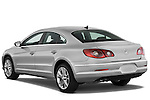 Rear three quarter view of a 2009 volkswagen cc luxary
