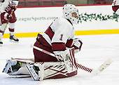 Sihak Lee (Harvard - 1) - The Harvard University Crimson defeated the visiting Boston College Eagles 5-2 on Friday, November 18, 2016, at the Bright-Landry Hockey Center in Boston, Massachusetts.