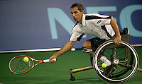 19-11-06,Amsterdam, Tennis, Wheelchair Masters, Robbin Ammerlaan in the finals