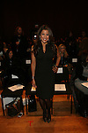Gigi Stone-Front Row-Mercedes Benz Fashion Week Douglas Hannant Fall 2013, NY 2/13/13