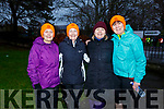 Ready for road at the fourth anniversary of the Tralee Park Run in the the Town Park on Saturday morning.<br /> Josephine O'Shea (Ballymac) and Gemma O'Shea (Tralee), Mary Daly (Killarney) and Hilda Jones (Tralee)