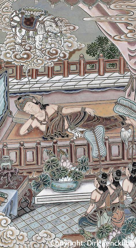 buddhistischer Tempel Jogye-sa in Seoul, S&uuml;dkorea, Asien<br /> buddhist temple Jogye-sa,  Seoul, South Korea, Asia