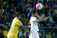 Mobido Diakite e Josef Martinez  durante l'incontro di calcio di Serie A   Frosinone - Torino  allo  Stadio Matusa di   di Frosinone ,23 Agosto 2015