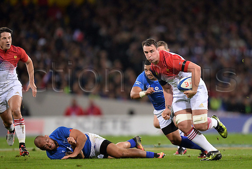 12.11.2016. Stadium Toulouse, Toulouse, France. Autumn International rugby match, France versus Samoa.  Louis Picamoles (fra)