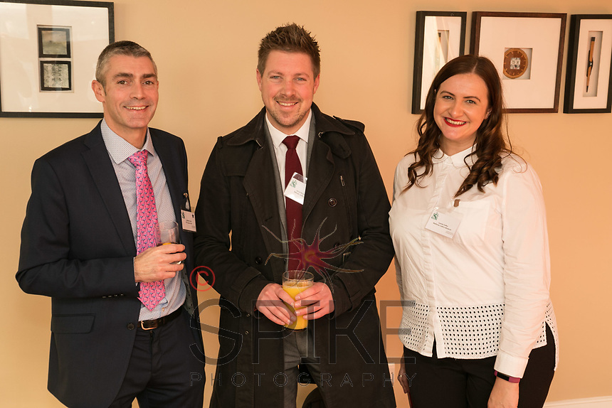 Jonathan Davis of PKF Cooper Parry, Lloyd Rumbold of Belvoir Lettings and Lauren Sulley of the National Justice Museum