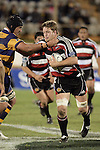 Kristian Ormsby is taken high by Aaron Rameka during the Air NZ Cup rugby game between Bay of Plenty & Counties Manukau played at Blue Chip Stadium, Mt Maunganui on 16th of September, 2006. Bay of Plenty won 38 - 11.