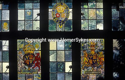 The Village Pub. Crown, Chiddingfold, Surrey. England. The Window.