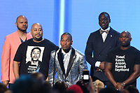 LOS ANGELES, CA - JUNE 23: The Central Park 5 at the 2019 BET Awards Show at the Microsoft Theater in Los Angeles on June 23, 2019. Credit: Walik Goshorn/MediaPunch