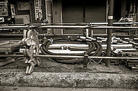 Curbside Construction, Kobe, Japan. 2015