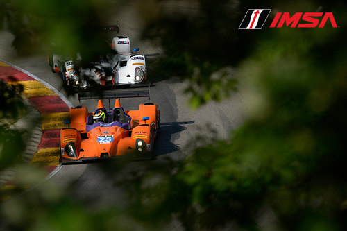 8-10 August  2014, Elkhart Lake, Wisconsin USA<br /> 25, Chevrolet, ORECA FLM09, PC, Luis Diaz, Sean Rayhall<br /> &copy;2014, Richard Dole<br /> LAT Photo USA for IMSA