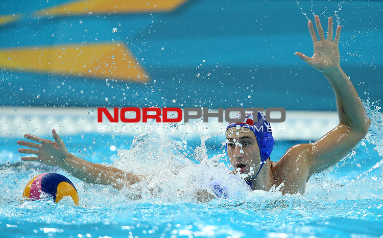 29.07.2012.  London, Great Britain - Water polo match, group A, Croatia - Greece during the London 2012 Olympic Games. Maro Jokovic.<br /> <br /> Foto &copy;  nph / PIXSELL / Sajin Strukic