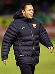 FC Barcelona's Adriano Correia during Spanish King's Cup match.October 30,2012. (ALTERPHOTOS/Acero)