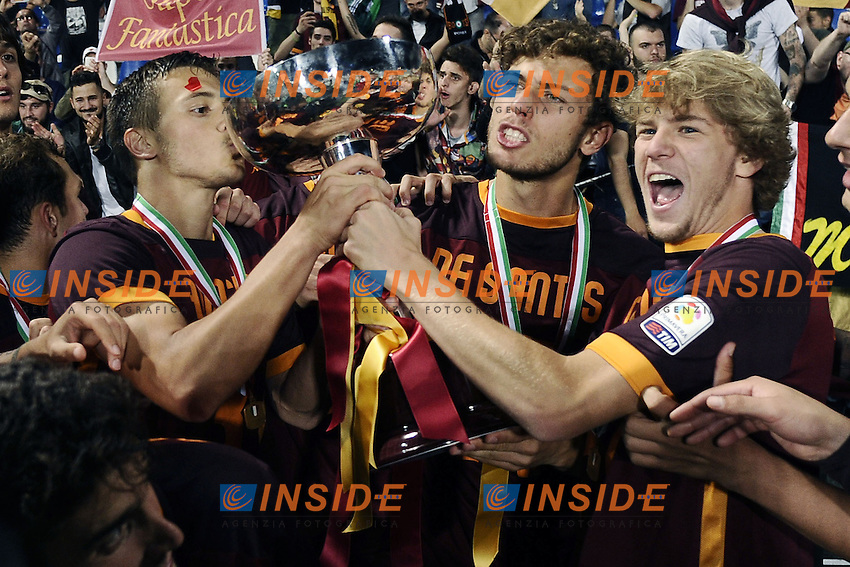 Reggio Emilia 04-06-2016 - finale Campionato Primavera / Roma-Juventus / foto Daniele Buffa/Image Sport/Insidefoto<br /> nella foto: Roma