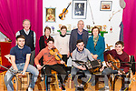 Rambling House in the Beaufort Community Hall last Saturday night. Pictured front The Rising Band, Thomas Barrett, Cian O'Sullivan, Stephen O'Leary and Sean Kelleher, back l-r Neil O'Sullivan, Joan O'Brien, Joan O'Connor, Michael Foley and Bridie Shanahan.