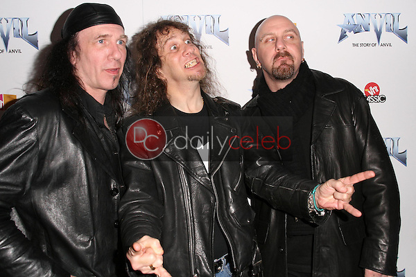 Anvil<br />at the Los Angeles Premiere of 'Anvil! The Story of Anvil'. The Egyptian Theatre, Hollywood, CA. 04-07-09<br />Dave Edwards/DailyCeleb.com 818-249-4998