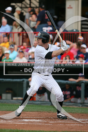 August 1, 2009:  Brennan Boesch of the Erie Seawolves during a game at Jerry Uht Park in Erie, PA.  Erie is the Eastern League Double-A affiliate of the Detroit Tigers.  Photo By Mike Janes/Four Seam Images