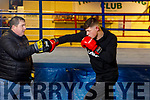 """Kevin Cronin, """"The Kingdom Warrior"""" from Milltown and Patrick O'Brien, Cashen Vale Boxing Club"""