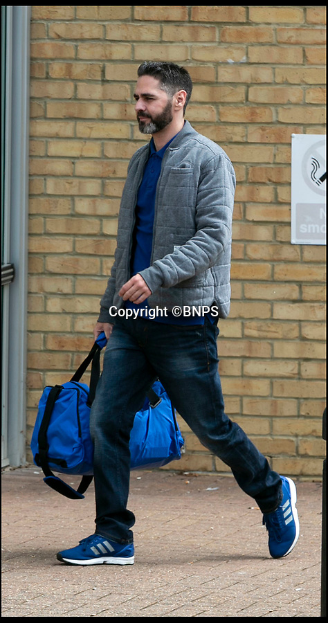 BNPS.co.uk (01202 558833)Pic: LeeMcClean/BNPS<br /> <br /> Ozan Melin(42) at court today.<br /> <br /> A bogus cosmetic surgeon who inflicted grievous bodily harm on two female clients by injecting them with fake Botox has today been jailed for four years.<br /> <br /> Ozan Melin, 42, left the women in severe pain and with long-lasting damage to their faces after using an 'unknown and extremely dangerous substance' on them.<br /> <br /> Marcelle King and Carol Kingscott's faces puffed up so much they couldn't see and Mrs King had to be hospitalised after suffering a reaction similar to anaphylactic shock.<br /> <br /> Mrs King said she thought she was going to die and Ms Kingscott said she considered suicide because of the disfigurement to her face.