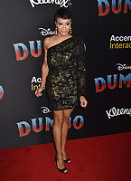 HOLLYWOOD, CA - MARCH 11: Director Carly Hughes attends the premiere of Disney's 'Dumbo' at El Capitan Theatre on March 11, 2019 in Los Angeles, California.<br /> CAP/ROT/TM<br /> &copy;TM/ROT/Capital Pictures