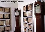 Fraktur and clocks, Pennsylvania Dutch Gallery, Reading, Berks Co., PA