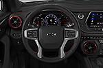 Car pictures of steering wheel view of a 2020 Chevrolet Blazer RS 5 Door SUV Steering Wheel