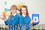 Winners at the Kerry Educational Services Poetry Aloud Competition at the Kerry County Library on Friday..Pictured are Colaiste na Sceilge students, Sarah Jane O'Shea, winner of the Junior category and also winner of the overall winner of the Poetry Aloud Competition and Grace Etherton, winner of the Intermediate category.