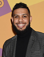 BEVERLY HILLS, CA - JANUARY 07: Actor Sarunas J. Jackson  arrives at HBO's Official Golden Globe Awards After Party at Circa 55 Restaurant in the Beverly Hilton Hotel on January 7, 2018 in Los Angeles, California.