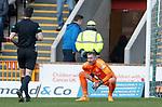 15.12.2019 Motherwell v Rangers: Allan McGregor strains his groin