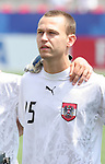22 July 2007: Austria's Michael Madl. At the National Soccer Stadium, also known as BMO Field, in Toronto, Ontario, Canada. Chile's Under-20 Men's National Team defeated Austria's Under-20 Men's National Team 1-0 in the third place match of the FIFA U-20 World Cup Canada 2007 tournament.