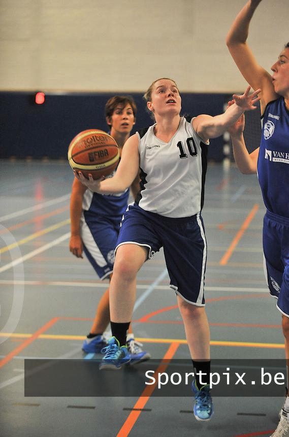 Blue Stars Brugge Dames : Sylvie De Baere<br /> foto VDB / Bart Vandenbroucke