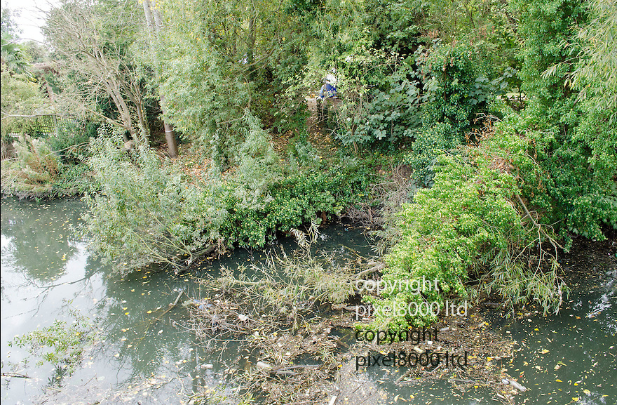 Pic shows: Place where Alice Gross body was found.<br /> <br /> <br /> Charges would have been brought against Alice Gross murder suspect Arnis Zalkalns if he had lived, police say.<br /> <br /> The body of Alice, 14, was found in the River Brent in west London on 30 September, after she went missing a month earlier.<br /> <br /> The corpse of Latvian builder Zalkalns was found less than two miles away in Boston Manor Park, on 4 October.<br /> <br /> The Met Police has told the Crown Prosecution Service saying Zalkalns was responsible for Alice's murde<br /> <br /> <br /> <br /> <br /> Pic by Pixel 8000 Ltd