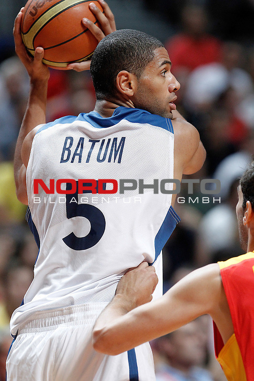 France's Nicolas Batum during friendly match.August 23,2012. Foto © nph / Acero)