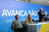 SAO PAULO, 20 DE JULHO DE 2012 - ELEICOES 2012 SERRA - O candidato a prefeito de São Paulo Jose Serra (PSDB) em curso de liderança em campanha eleitoral para candidatos a vereador, no diretorio estadual do PSDB, na tarde desta sextaa feira, regiao sul da capital. FOTO: ALEXANDRE MOREIRA - BRAZIL PHOTO PRESS