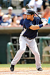 16 March 2007: New York Yankees outfielder Bronson Sardinha in action against the Houston Astros at Osceola County Stadium in Kissimmee, Florida...Mandatory Photo Credit: Ed Wolfstein Photo