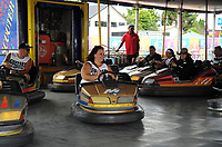 Dodgems. Day one of the 2018 HSBC World Sevens Series Hamilton at FMG Stadium in Hamilton, New Zealand on Saturday, 3 February 2018. Photo: Dave Lintott / lintottphoto.co.nz