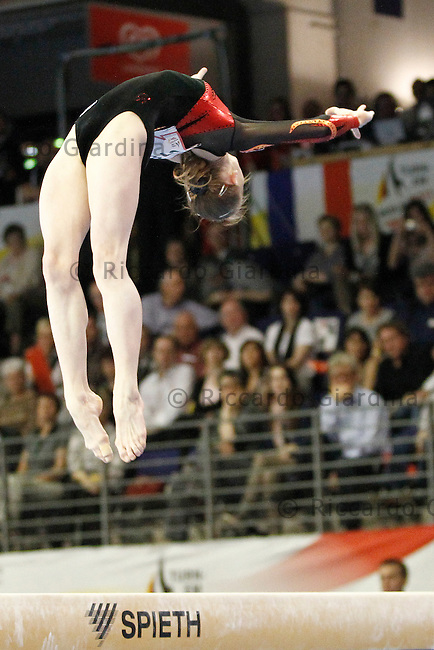 Anna DEMENTYEVA (RUS) - Gold medal and European Champion (Beam exercise) at the 2011 European Championships Artistics Gymnastic in Berlin
