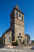 France, Lot, (46), Lacapelle-Marival: L'église du XVe siècle   // France, Lot, Lacapelle-Marival:  the church