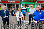 Kerins O'Rahilly's GAA Club get the exclusive sales of Lotto tickets at the Rock Street Post Office.<br /> Front; Michael Mangan, Marie Williams (Rock Street Post Office) and Haulie Kerins (Kerins O'Rahillys Chairman). <br /> Back l to r: Breda Dyland, Gavin O'Brien and Martin Williams.