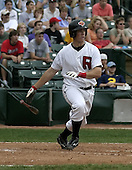 August 15, 2004:  Terry Tiffee (12) of the Rochester Red Wings, Triple-A International League affiliate of the Minnesota Twins, during a game at Frontier Field in Rochester, NY.  Photo by:  Mike Janes/Four Seam Images