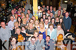 50 & FABULOUS: Lesley Daly, Caherwisheen, Tralee (centre right) celebrating her 50th birthday last Saturday night in the Imperial hotel, Tralee with her husband Kieran, children Michaela, Chris, Jonathan and Jordan and lots of family and friends.