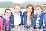 Emer, Noelle Galvin, Sonya Donoghue and Sandra O'Shea Caherdaniel who competed at the Cromane regatta on Saturday.
