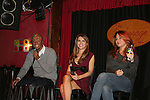 All My Children's J.R. Martinez - Chrishell Stause - Jamie Luner came to see fans on November 22, 2009 at the Brokerage Comedy Club & Vaudeville Cafe, Bellmore, NY for a Q & A, autographs and photos. (Photo by Sue Coflin/Max Photos)