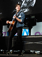 SAN JOSE, CA - DECEMBER 1: Shawn Mendes performs onstage at The SAP Center during the 99.7 Now POPTOPIA in San Jose, California. <br /> CAP/MPI/IS/CT<br /> &copy;CT/IS/MPI/Capital Pictures