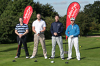 Team John Pye Property - From left Chris Roper, Peter Reed, Richard Reed and John Miles