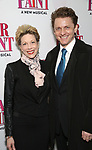 Marin Mazzie and Jason Danieley attend the Broadway Opening Night Performance of 'War Paint' at the Nederlander Theatre on April 6, 2017 in New York City