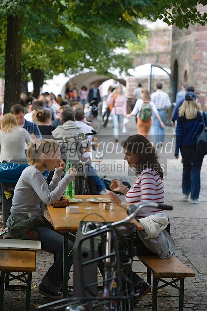 Europe/Allemagne/Bade-Würrtemberg/Heidelberg: au restaurant universitaire du Marstall - ancien arsenal